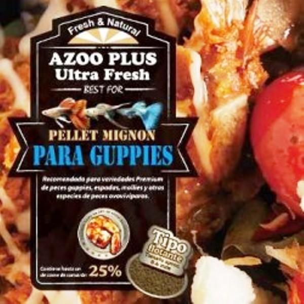 alimento para peces guppys