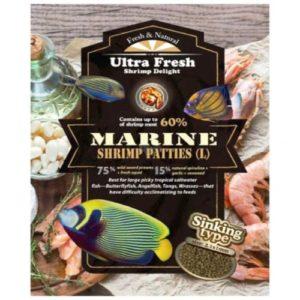 alimento para peces marinos