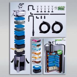 filtro exterior de botella JBL para acuarios