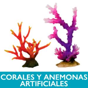 Corales y anemonas artificiales