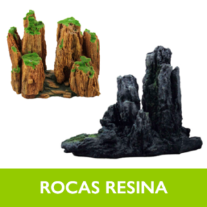 Rocas resina